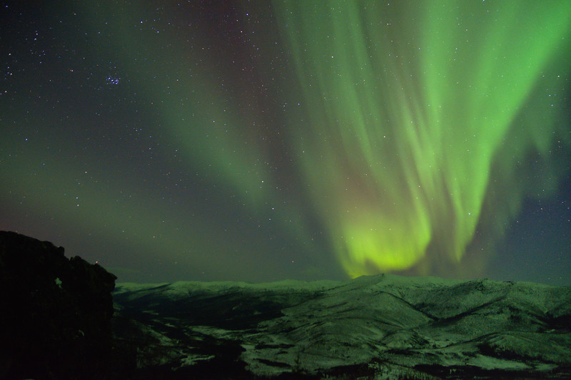 Pleiades and Aurora
