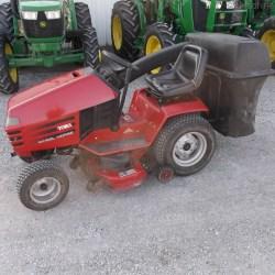 2004 toro wheel horse 267 h lawn & garden tractors john deere