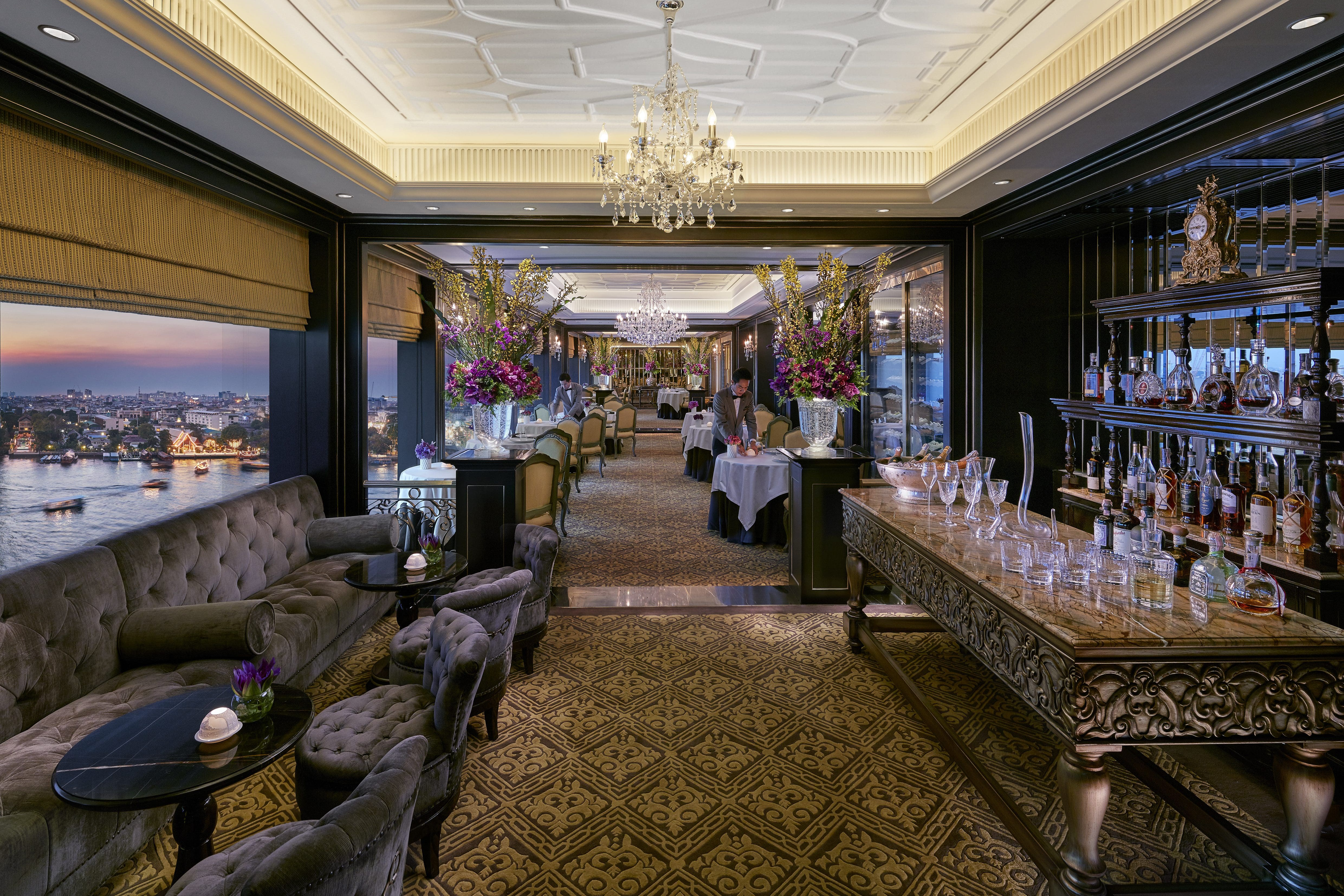 Le Normandie Restaurants On The Chao Phraya River