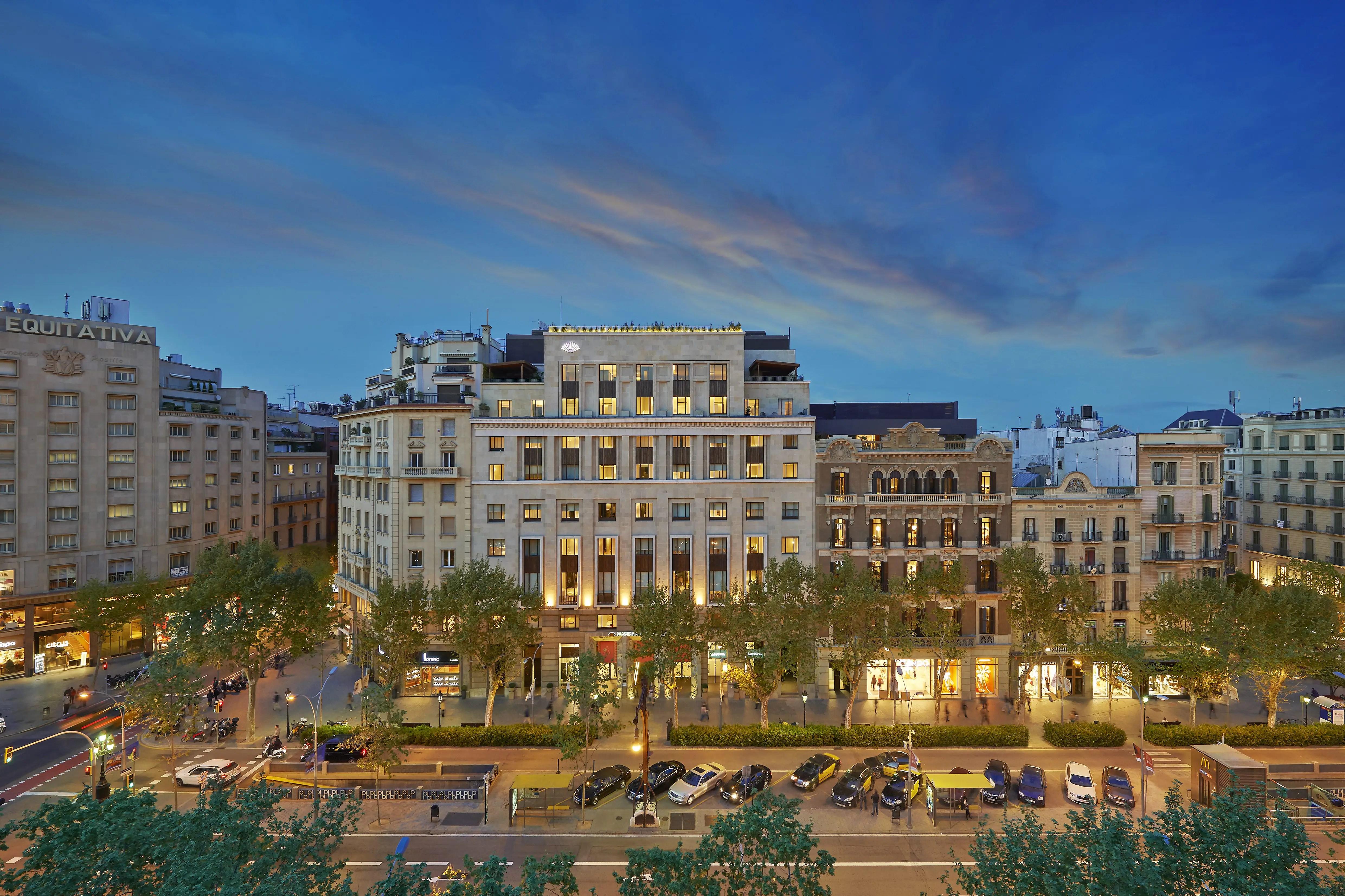 Luxury 5 Star Hotel  Passeig de Gracia  Mandarin