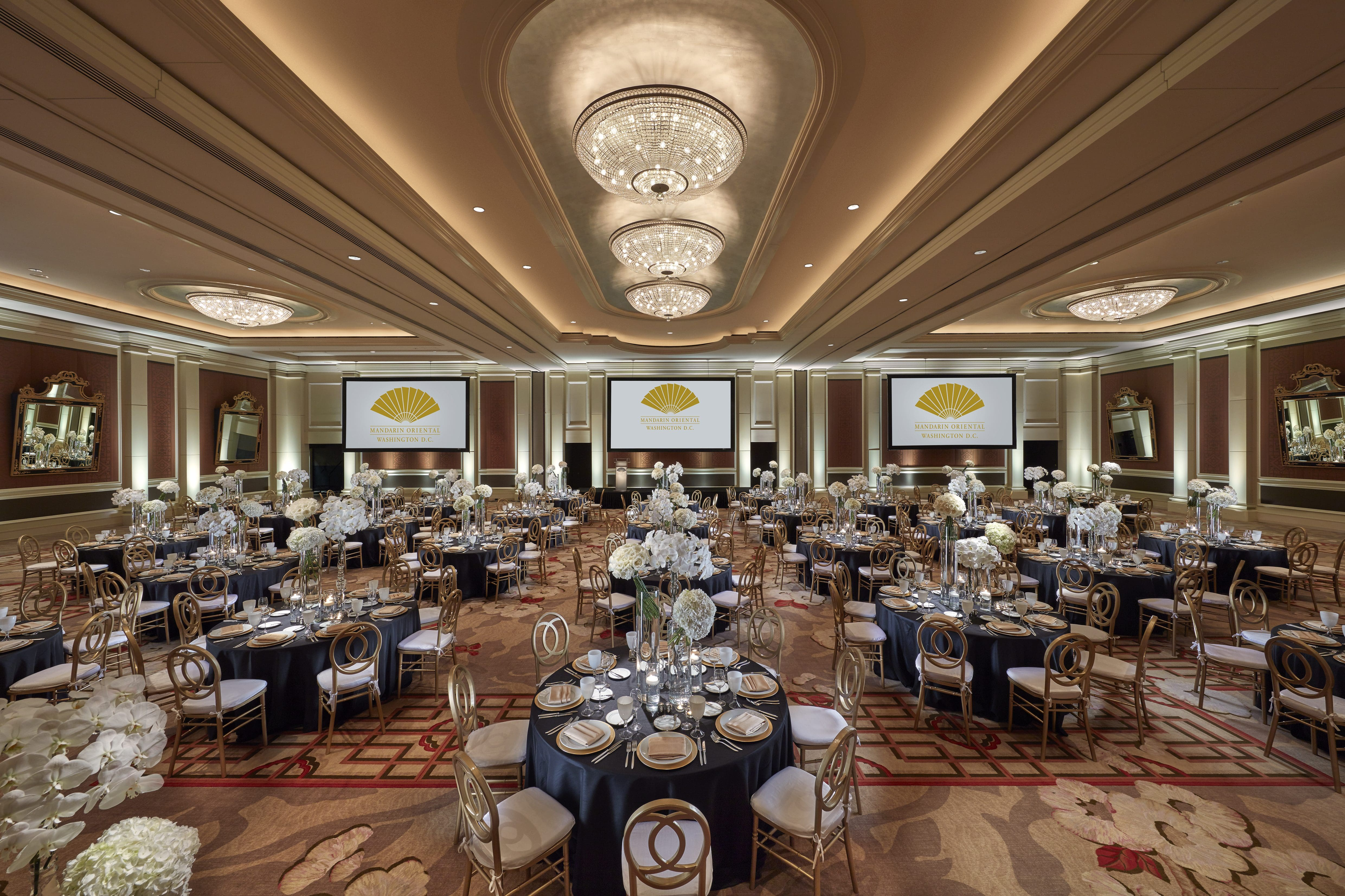 Mandarin Oriental Washington DC Grand Ballroom