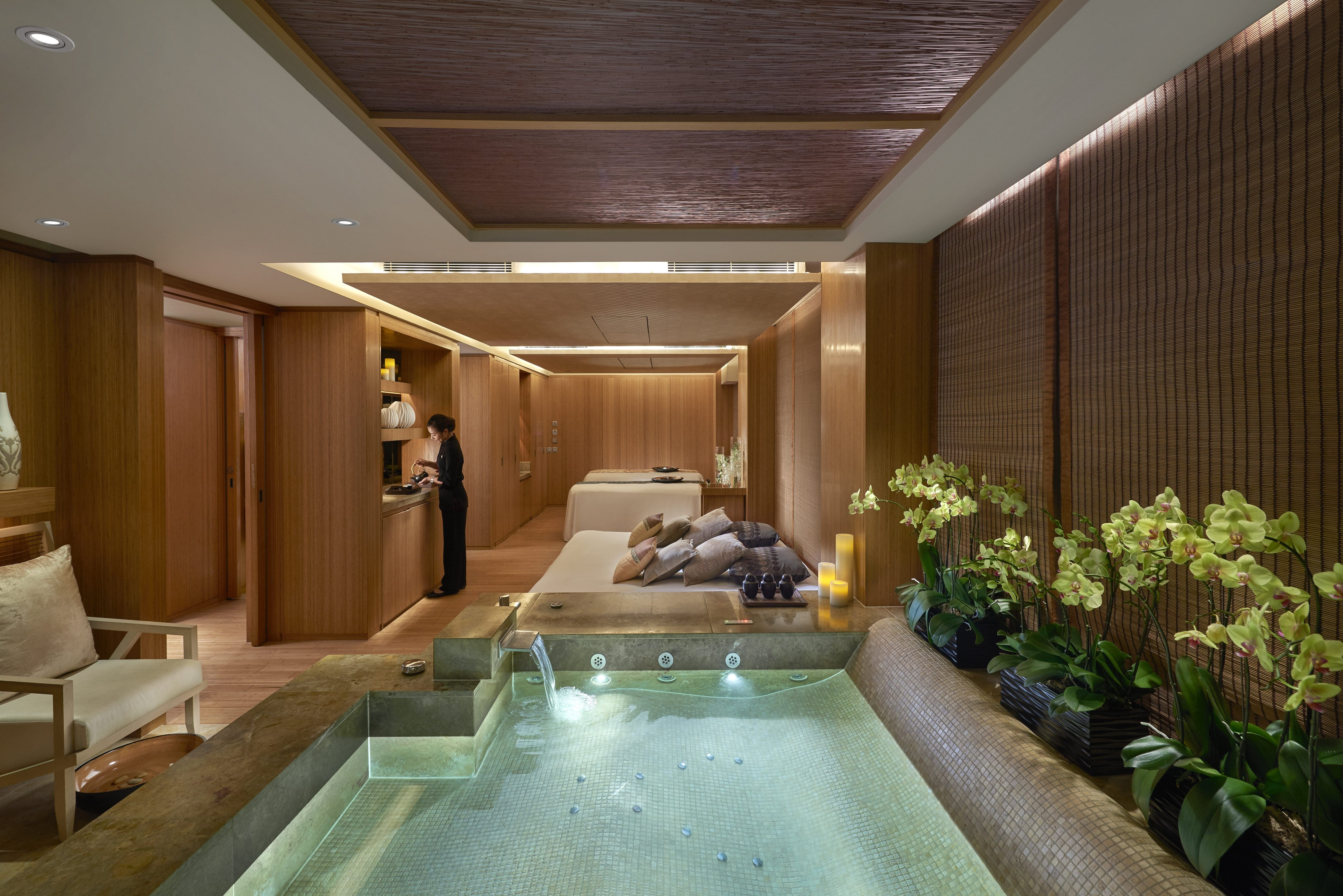 Luxury Wellness Spa Hong Kong The Landmark Mandarin