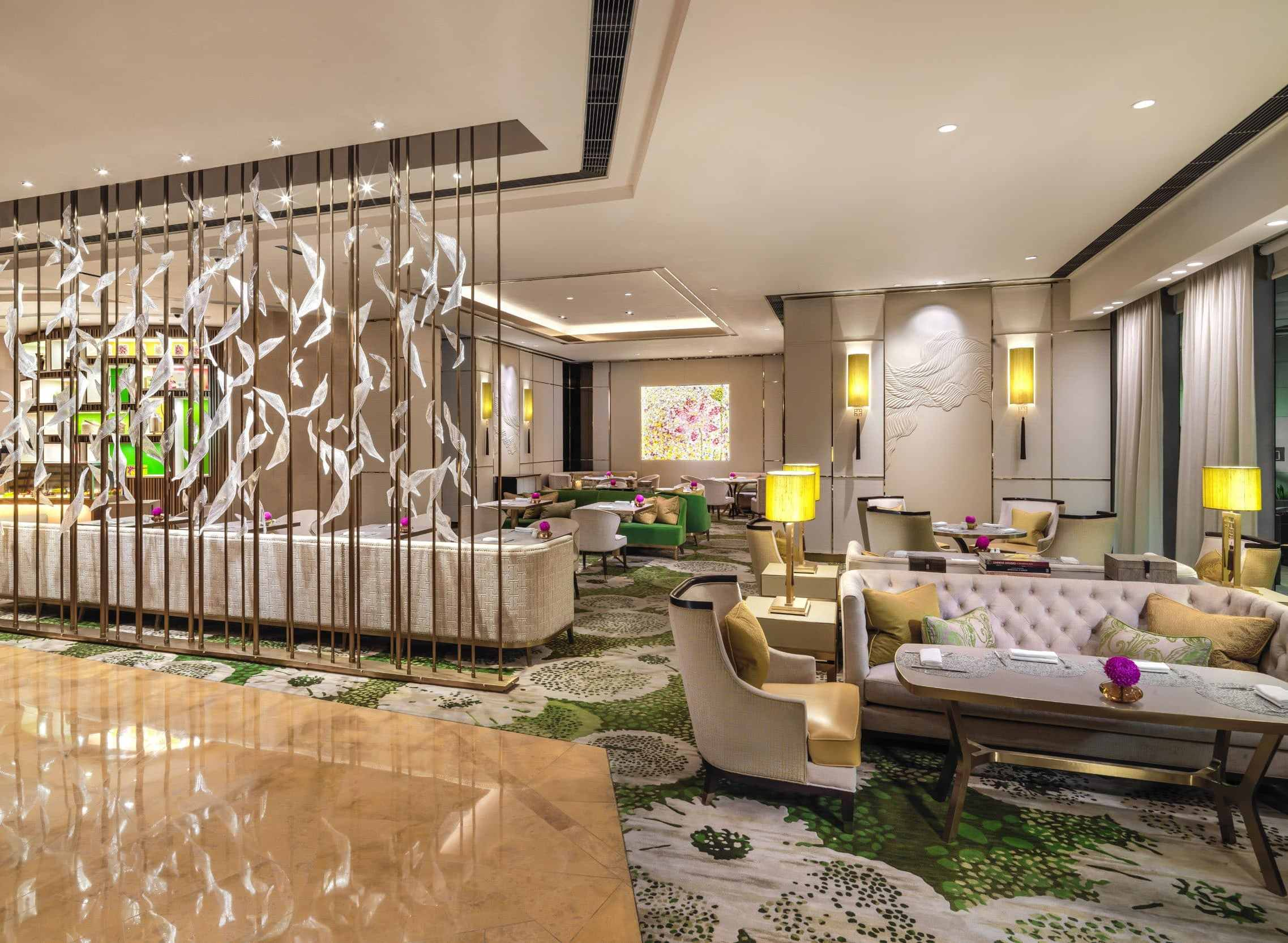Lobby Lounge  Mandarin Oriental Hotel Macau