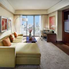 Living Room Miami Modern Articles Suites Dynasty Suite Mandarin Oriental Skyline View