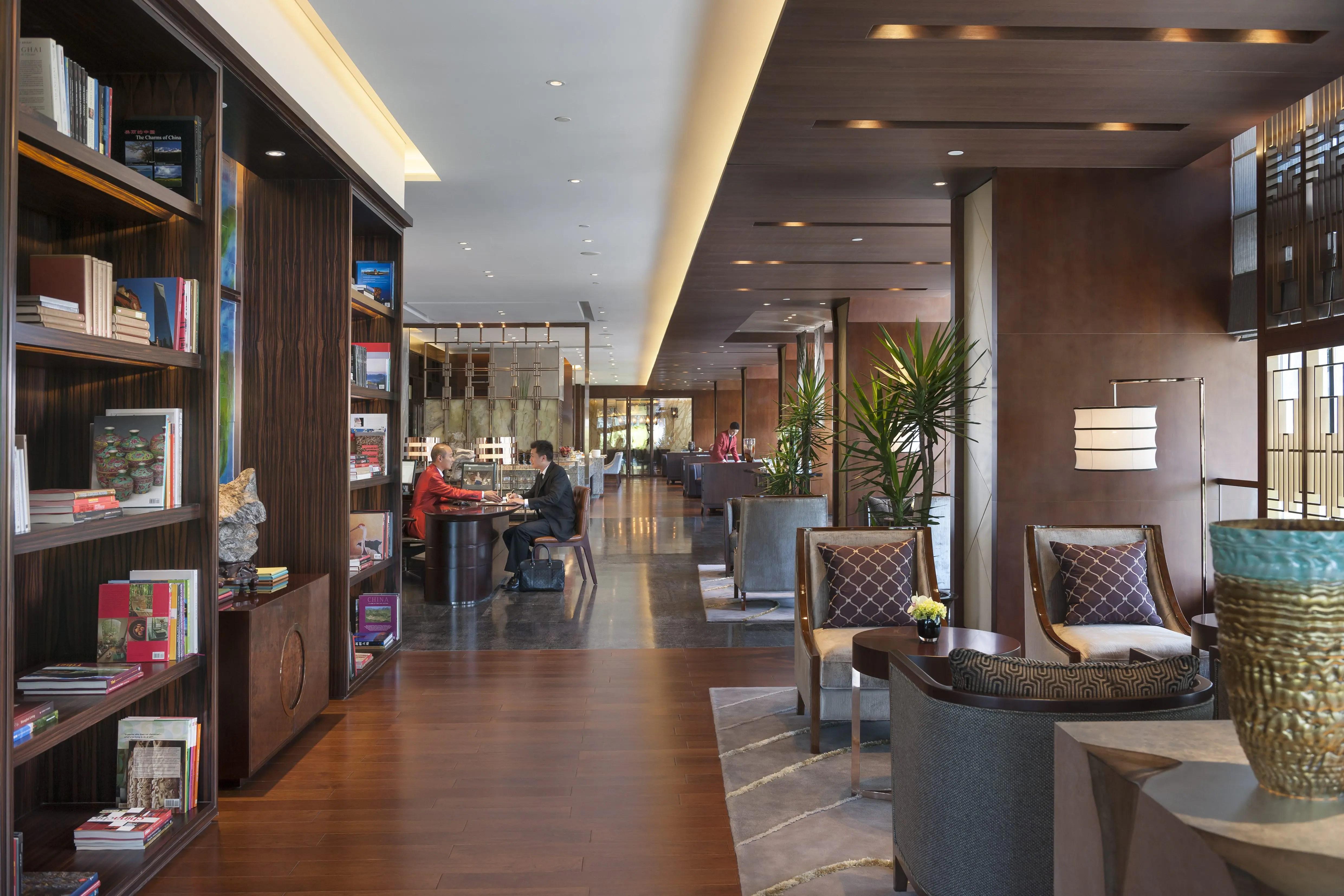 Club Lounge Luxury Mandarin Oriental Shanghai
