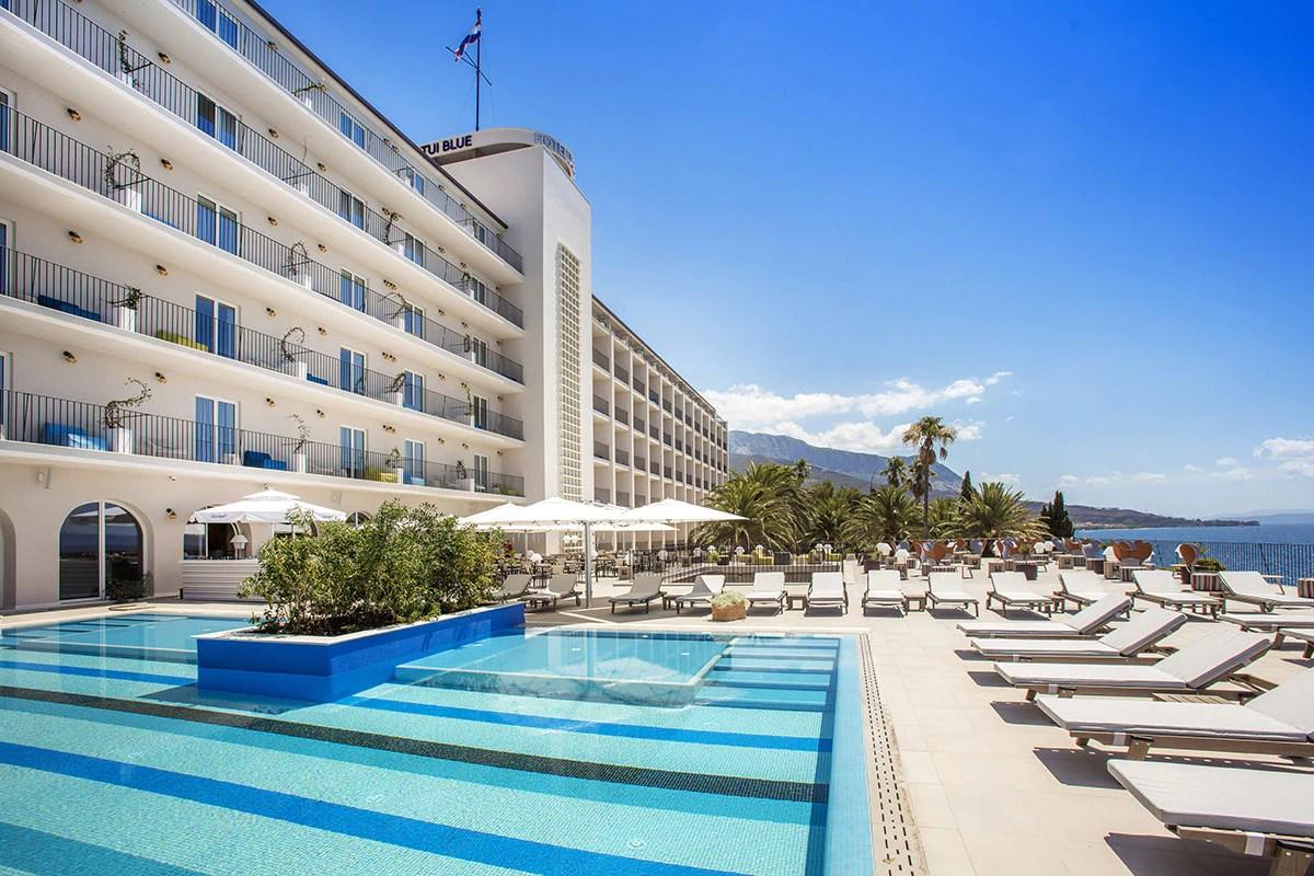 Hotel TUI BLUE Jadran 5 Makarska Croatie Avec Voyages