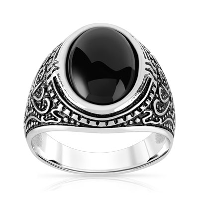 Ring Gold Onyx