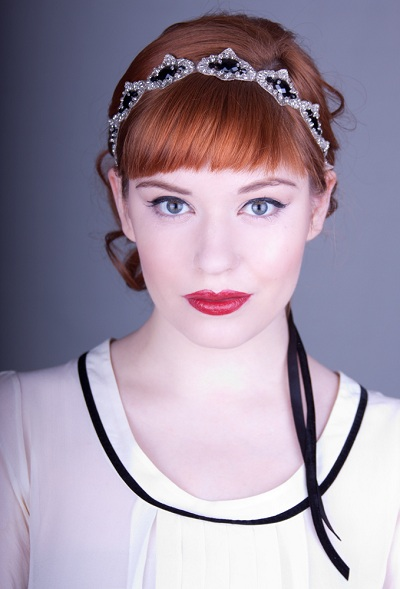 Model: Sierra McKenzie; Photographer: TrueLifePhotography Makeup Artist: Shiree Collier; Clothing Designer: Deanna DiBene Millinery