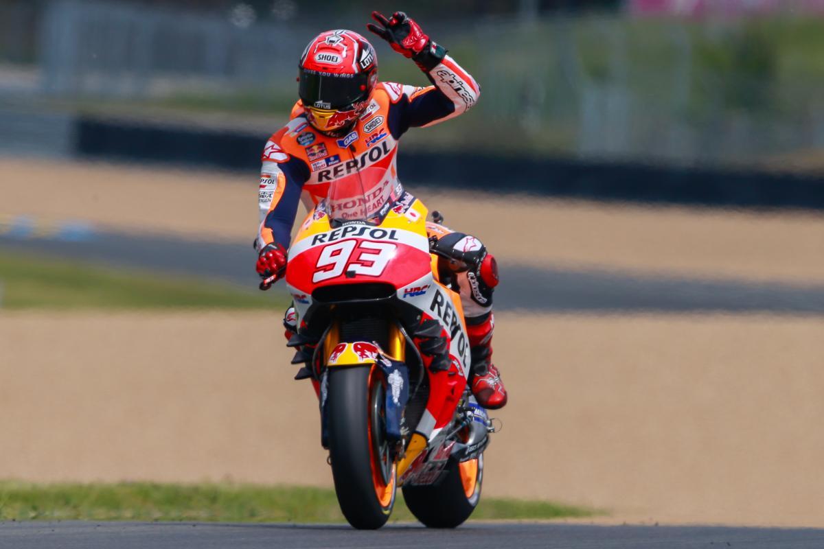 Marquez I M Still Not Quite As Fast As Jorge Motogp