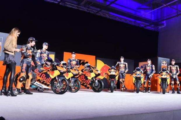 Red Bull KTM Launching Tim MotoGP, Moto2, Moto3 2017