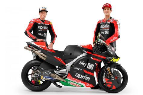 Aprilia, il 2021 inizia con importanti novità | MotoGP™