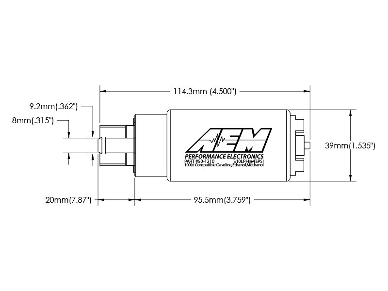 AEM Introduces 310lph E85-Compatible High Flow In-Tank