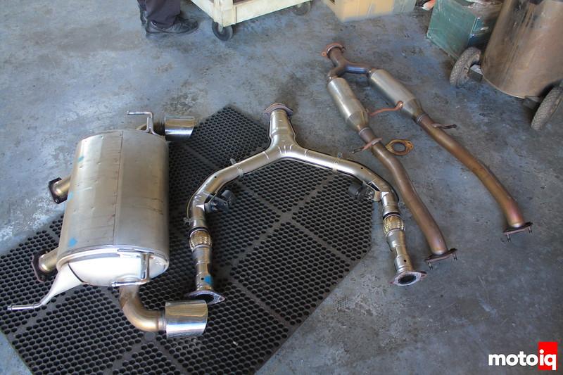 370z ark design superflow exhaust