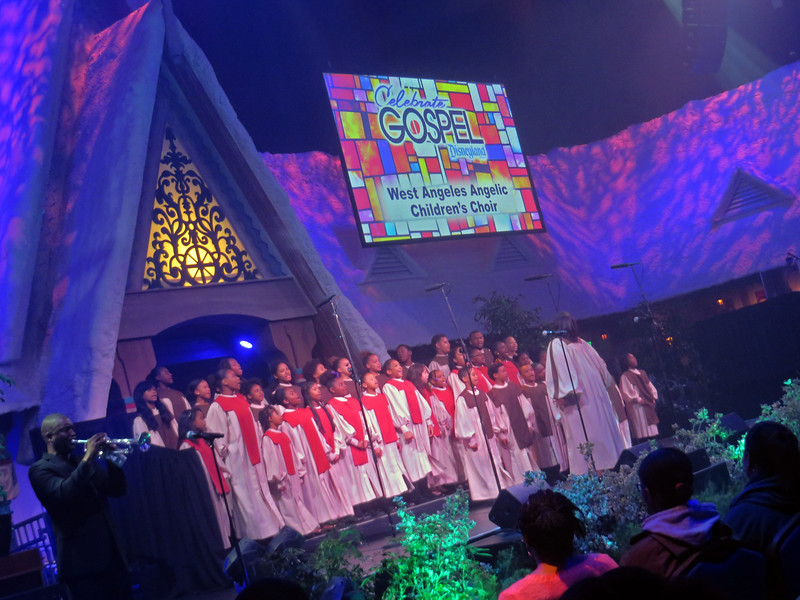 CELEBRATE GOSPEL commemorating 10th anniversary at Disney California Adventure