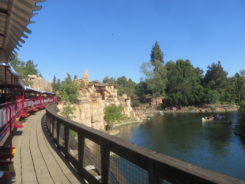 PICTORIAL: Rivers of America and Disneyland Railroad return plus a quick look around the parks