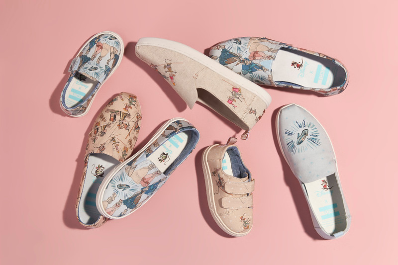 EARLY ACCESS NOW: Toms X Disney; Cinderella Collection