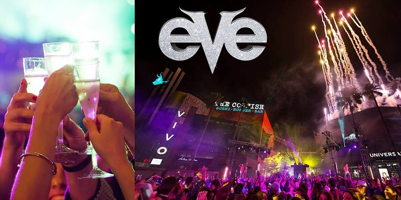EVE upscale event amongst New Year's offerings at Universal Studios Florida