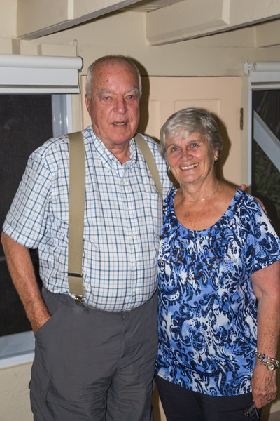 Long-time Resident and Rotarian Susan Petersen and her Husband Price (©simon@myeclecticimages.com)