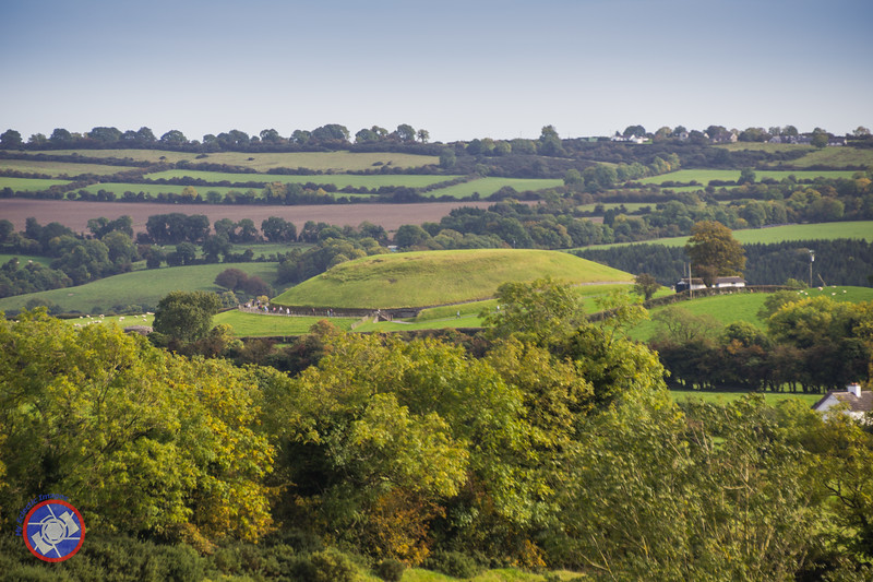 A View of Newgrange from Knowth (©simon@myeclecticimages.com)