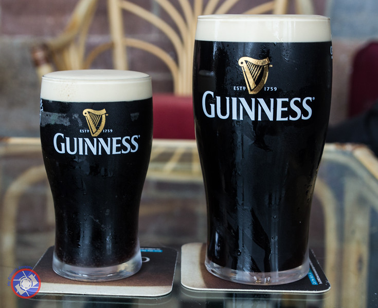 The Perfect Pint and Half Pint of Guinness (©simon@myeclecticimages.com)
