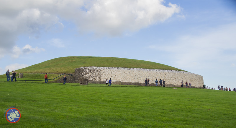 The Primary Mound at Newgrange (©simon@myeclecticimages.com)