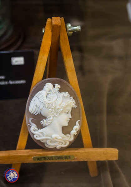 A Cameo on Display in the Cameo Museum (©simon@myeclecticimages.com)