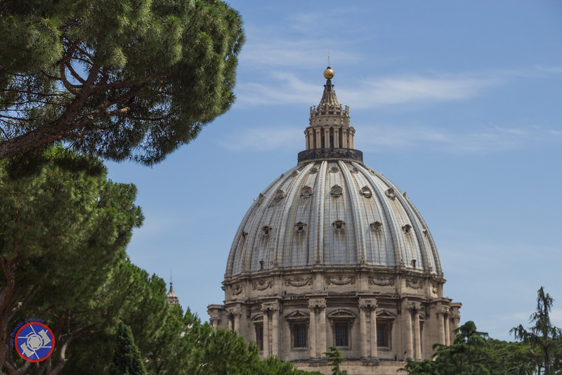 The Massive Dome of St. Peter\