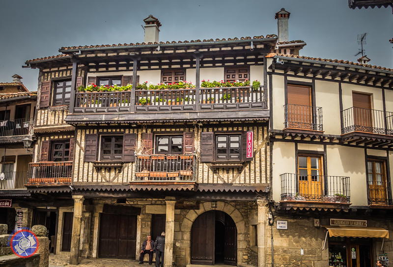 One of Many Medieval Buildings on the La Alberca Village Square (©simon@myeclecticimages.com)