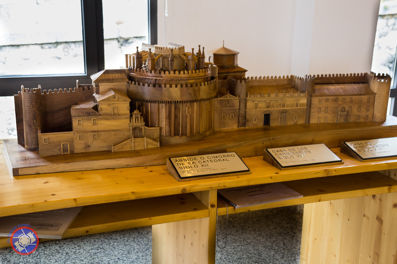 Scale Model of the Cathedral and Cathedral Gate through the City Wall