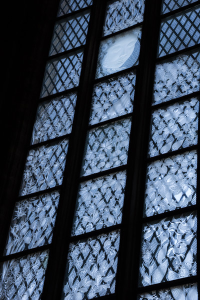 Etched Glass Windows in the Linköping Cathedral (©simon@myeclecticimages.com)