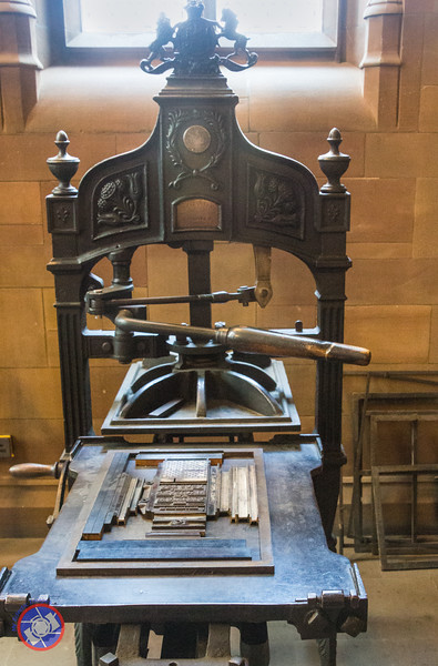 An Early Printing Press (©simon@myeclecticimages.com)