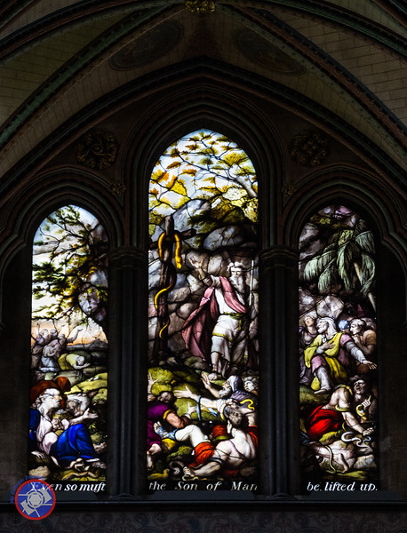 One of Many Rich Stained Glass Windows (©simon@myeclecticimages.com)