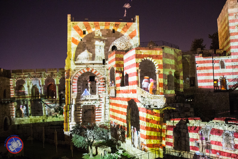 A Third Scene from the Night Spectacular at the Tower of David (©simon@myeclecticimages.com)