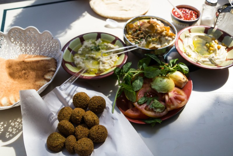 A Feast at the Well Known Downtown Hashem Restaurant (©simon@myeclecticimages.com)