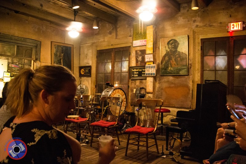Inside of Preservation Hall, Unchanged in at Least the Last 40 Years (©simon@myeclecticimages.com)