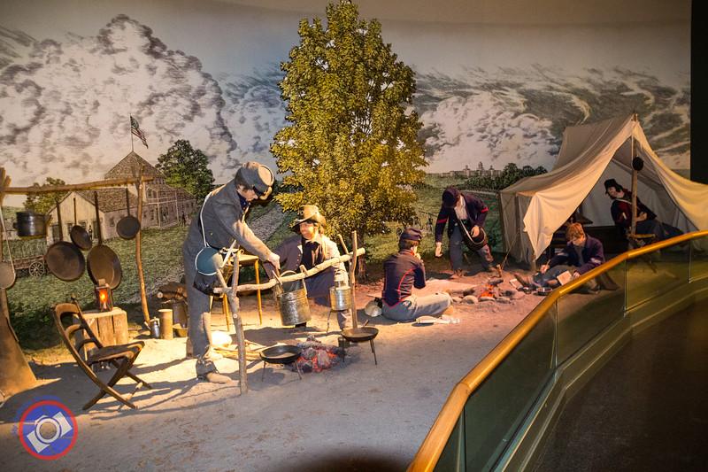 A Union Encampment (©simon@myeclecticimages.com)