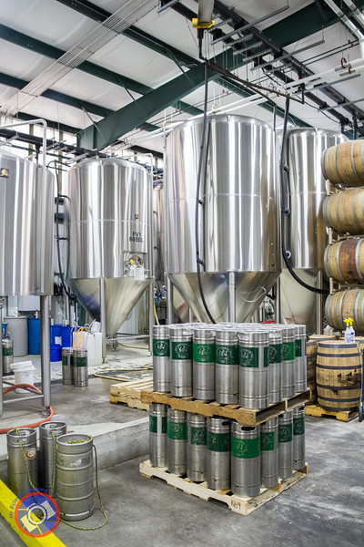The 60 Barrel Brewing Tanks at the Southbound Brewing Company (©simon@myeclecticimages.com)