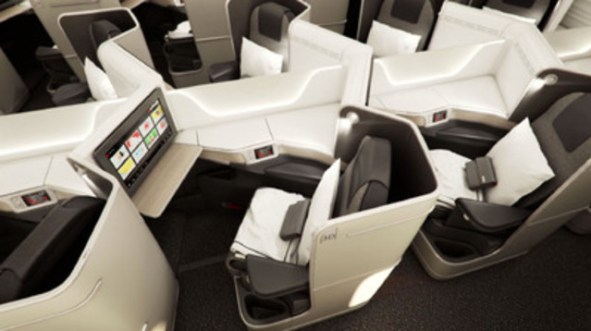 Image result for air canada 787 business class