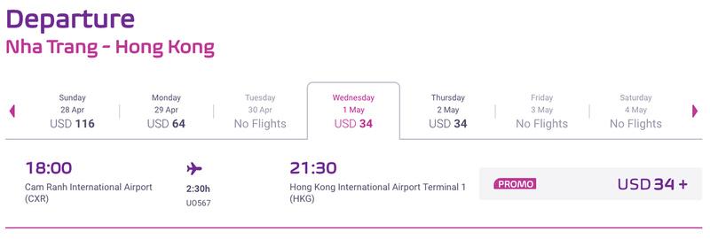 Flight Review: HK Express – Nha Trang to Hong Kong