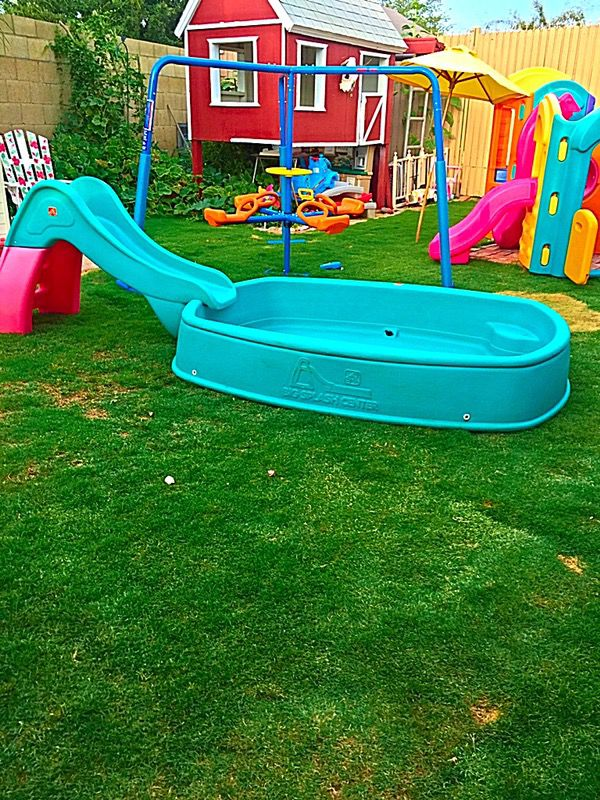 Step Two Pool : Step2, Splash, Center, Swimming, Slide, Playset, Glendale,, OfferUp
