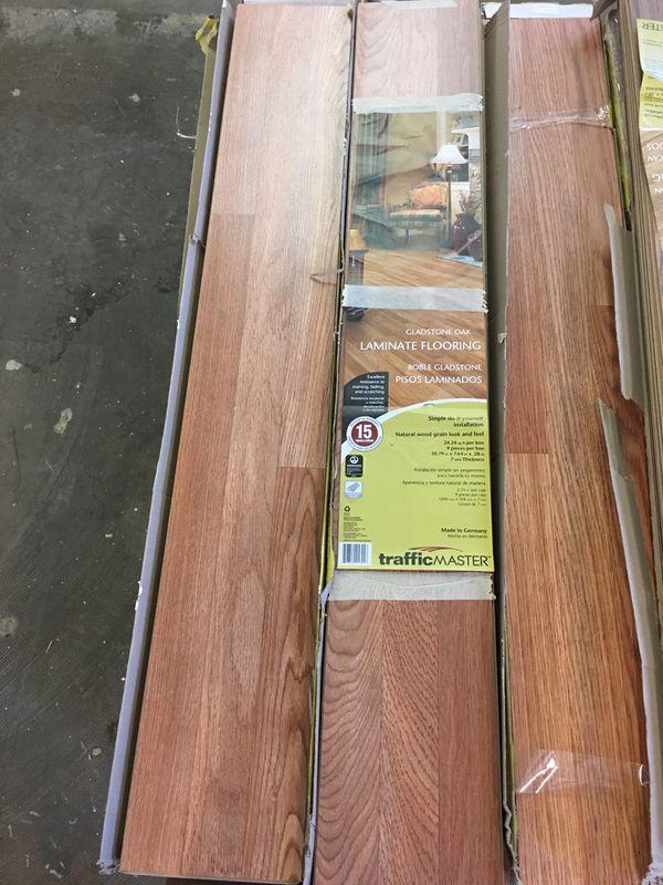 Trafficmaster Gladstone Oak Laminate, Glentown Oak Laminate Flooring