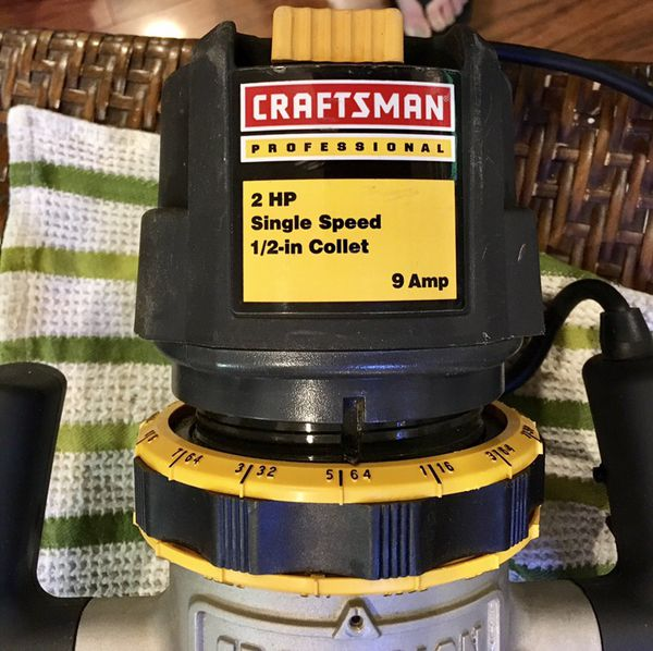 Craftsman Router 1 12 Hp