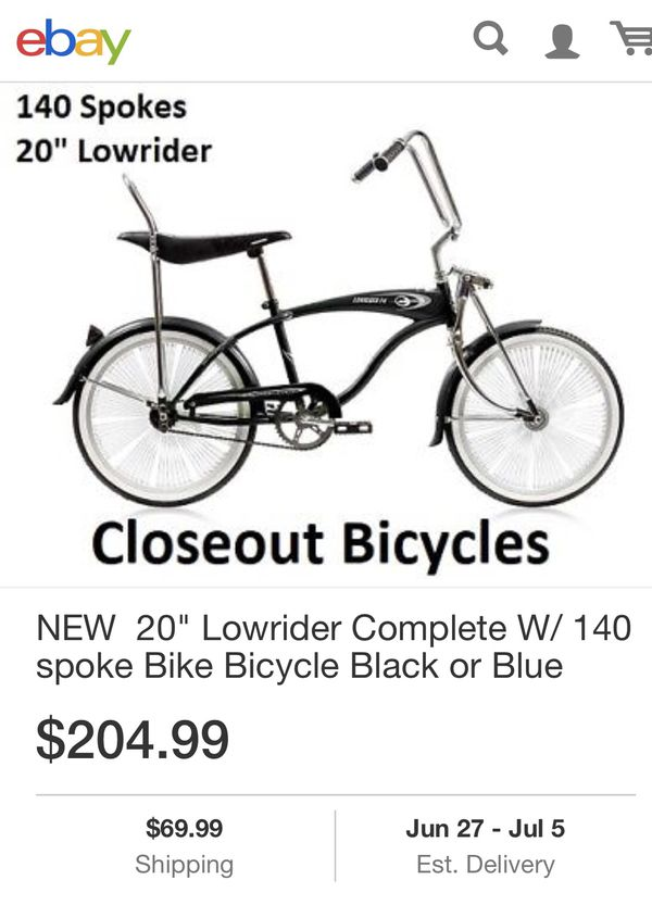 "20"" Micargi F4 Lowrider Bike for Sale in Fairfield, CT"
