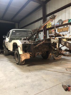 73 87 Chevy Truck Bed For Sale : chevy, truck, Winch, Tempe,, OfferUp
