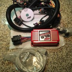 Msd 6010 Wiring Harness 6 Wire Trailer Plug Diagram New Ls Carb Intake Kit Edelbrock Rpm Ignition Quick 1 100sold