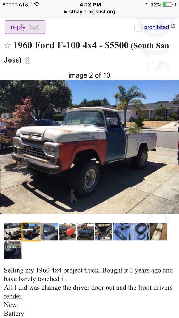 Ford Lightning Parts For Sale Craigslist : lightning, parts, craigslist, Truck, Parts, Craigslist