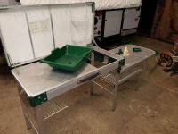 Coleman camp kitchen and game table vintage for Sale in ...