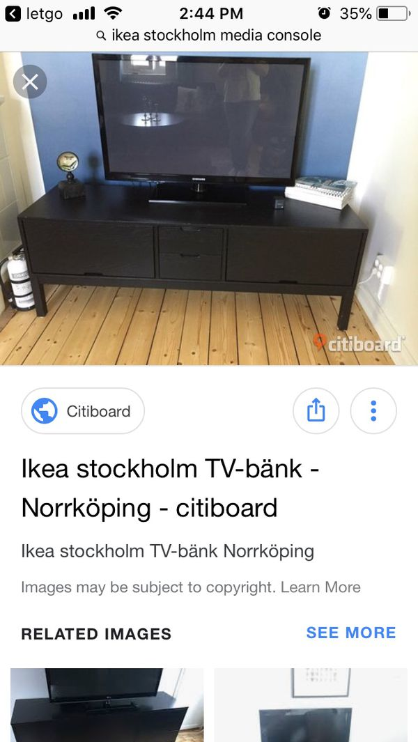 Ikea Stockholm Tv Unit For Sale In Midvale Ut Offerup