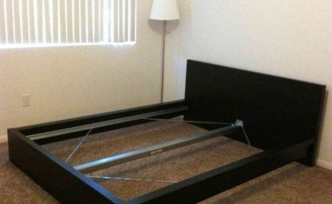 Queen Size Ikea Malm Bed Frame Missing Parts For Sale In