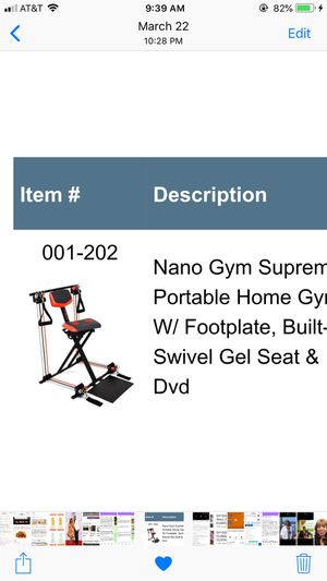 chair gym dvd set heated massage office new and used home for sale in detroit mi offerup supreme westland